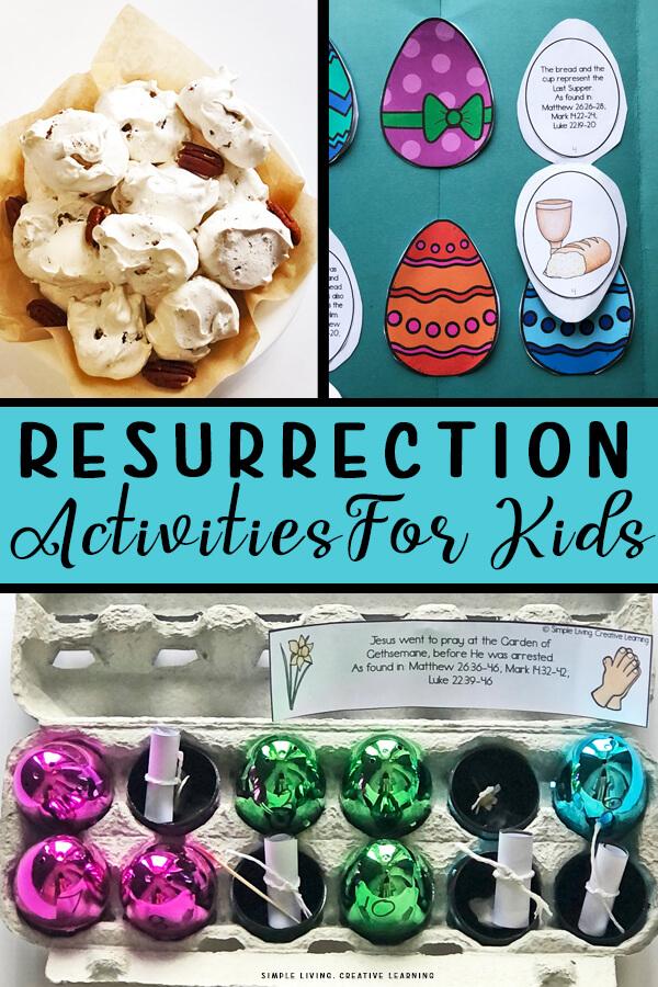 Resurrection Activities for Kids