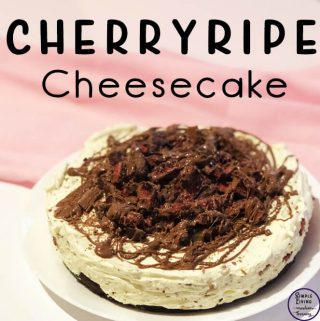We love cheesecakes and I have made quite a variety so far, and this Cherry Ripe Cheesecake is just another one to add to the delicious pile.