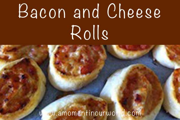 Bacon and Cheese Rolls