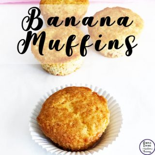These freezer-friendly banana muffins are a lovely snack. Make a batch on the weekend, freeze & then grabbing on the way to school or work in the morning.
