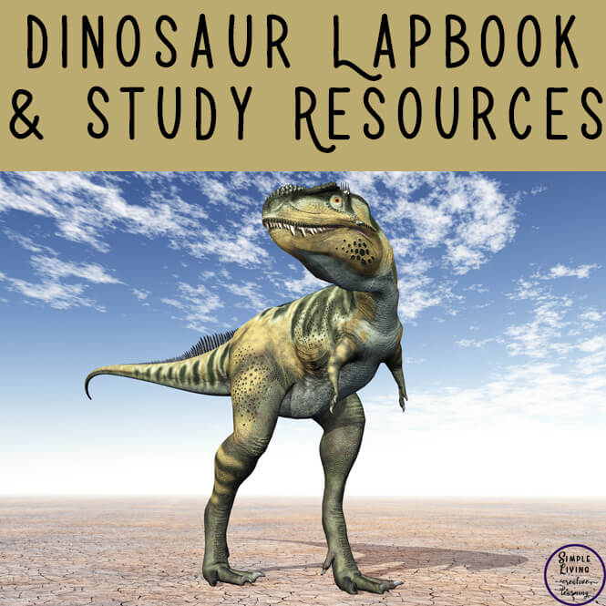 Dinosaur lapbook and study resources for young children mainly in preschool and kindergarten with a few options for those in middle school.