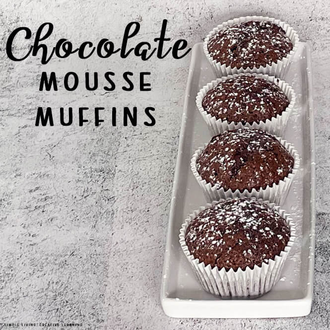 Chocolate Mousse Muffins