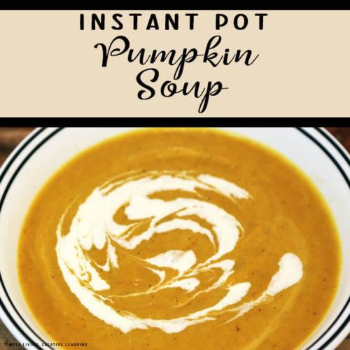 Instant Pot Pumpkin Soup