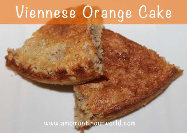 Viennese Orange Cake