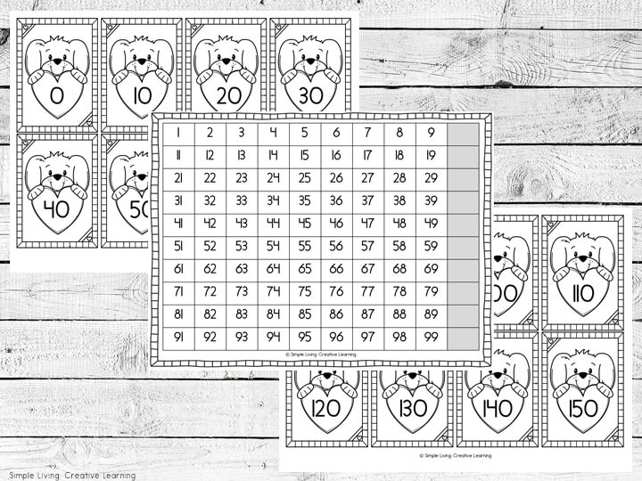 Counting By 10s Printable