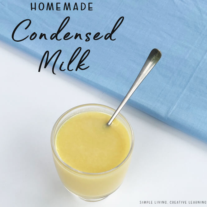 Home Made Condensed Milk