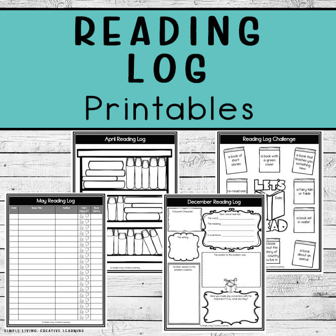 Reading Log Printables