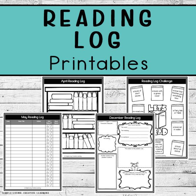 Reading Log Printables