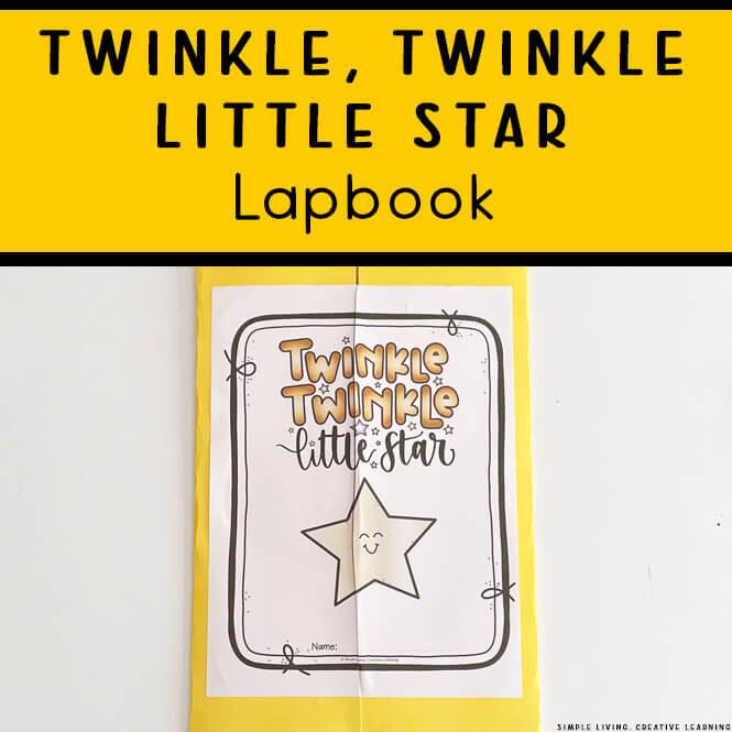 Twinkle, Twinkle Little Star Lapbook