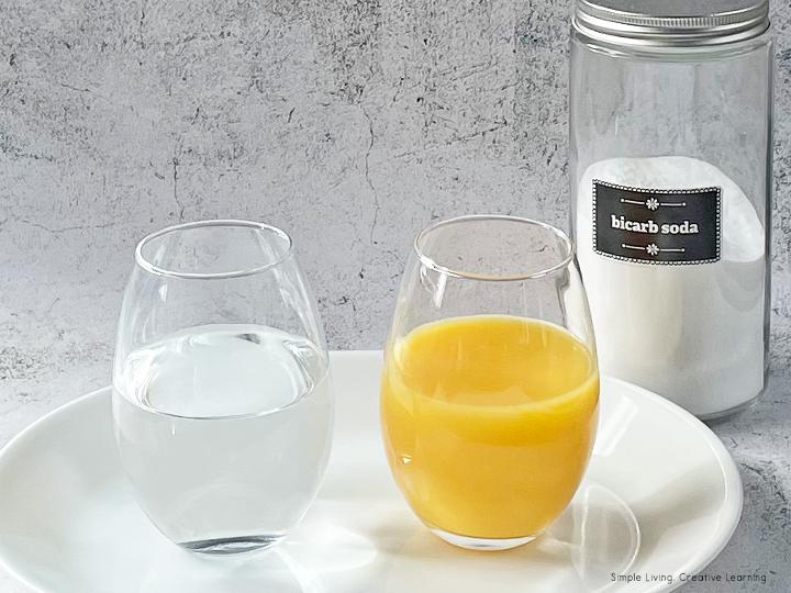 How to Make Orange Soda Experiment!