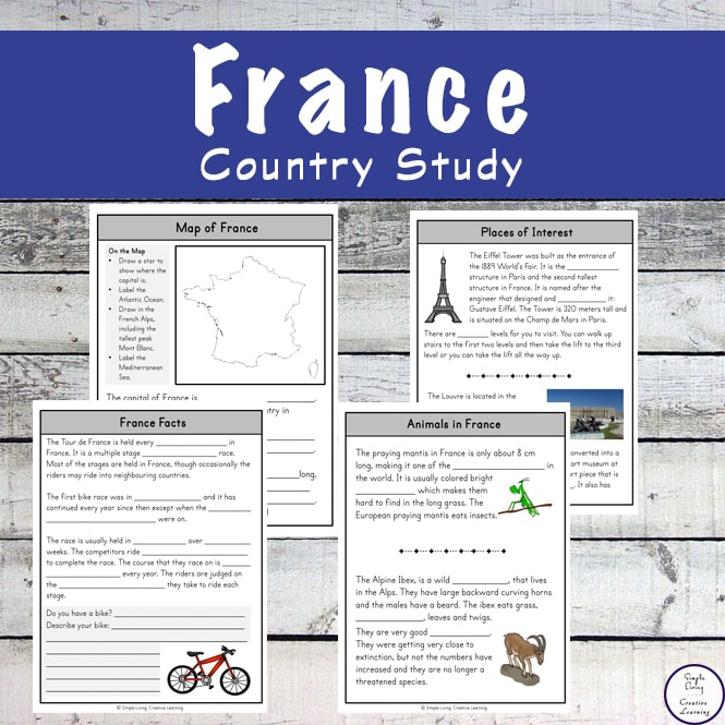 Take a fascinating journey to France with this exciting France Study and learn more about the people, food and culture along the way.