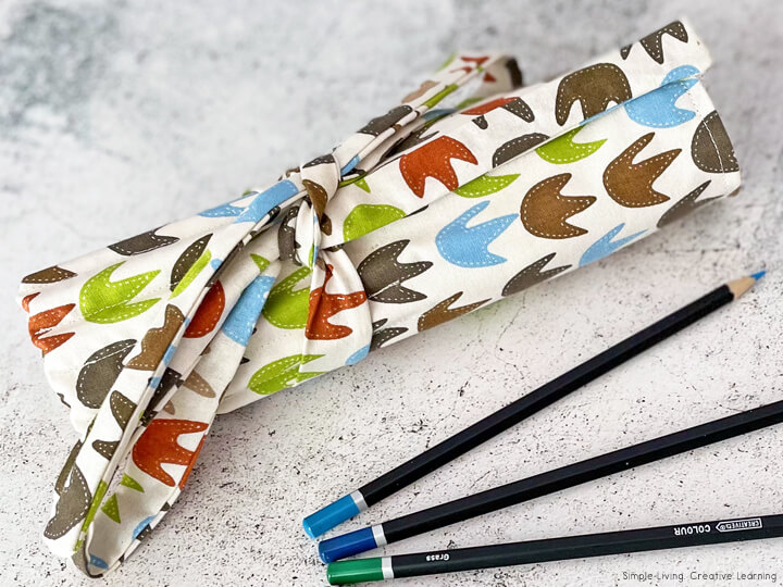 Sewing Pencil Roll Cases