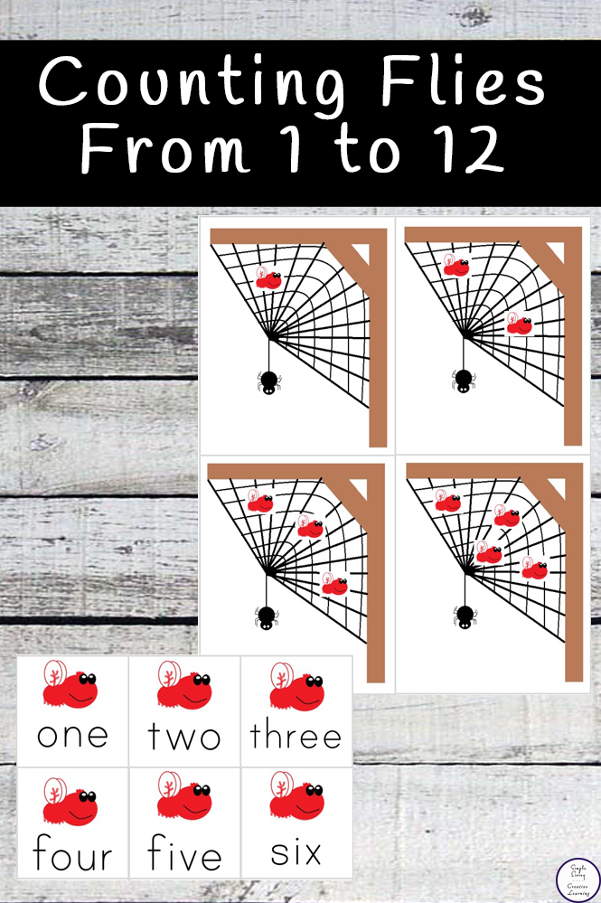 In this fun Counting Flies Printable pack, children will have a great time learning to count from one two twelve.