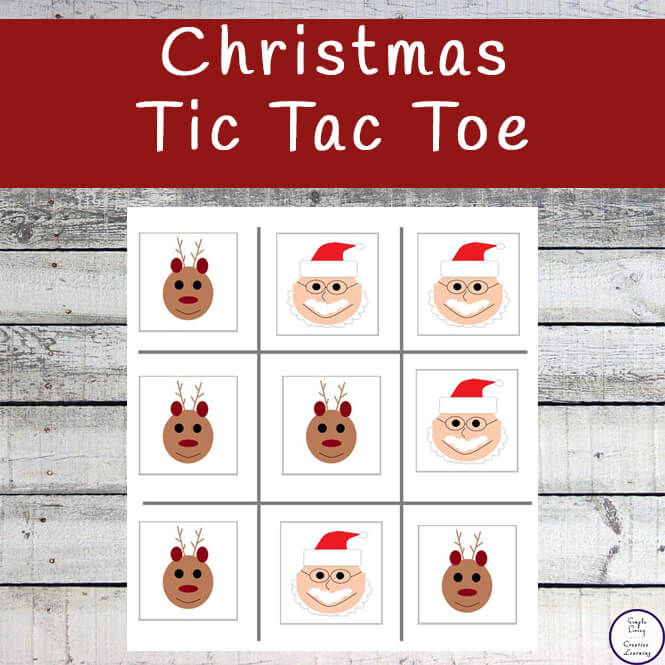 Tic Tac Toe (otherwise known as Naughts and Crosses) is a fun game that kids love to play. This printable Christmas Tic Tac Toe printable pack contains a variety of pieces for many hours of enjoyment.
