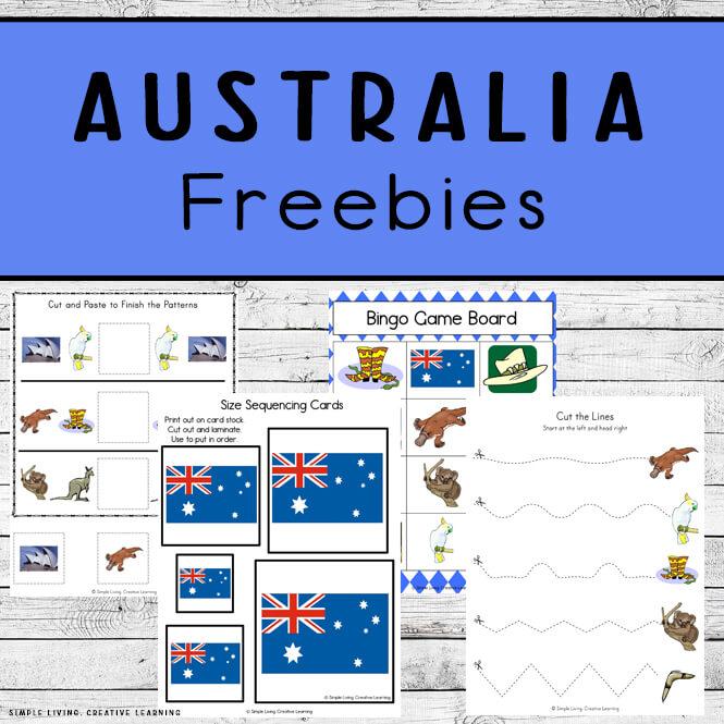 Australian Printables