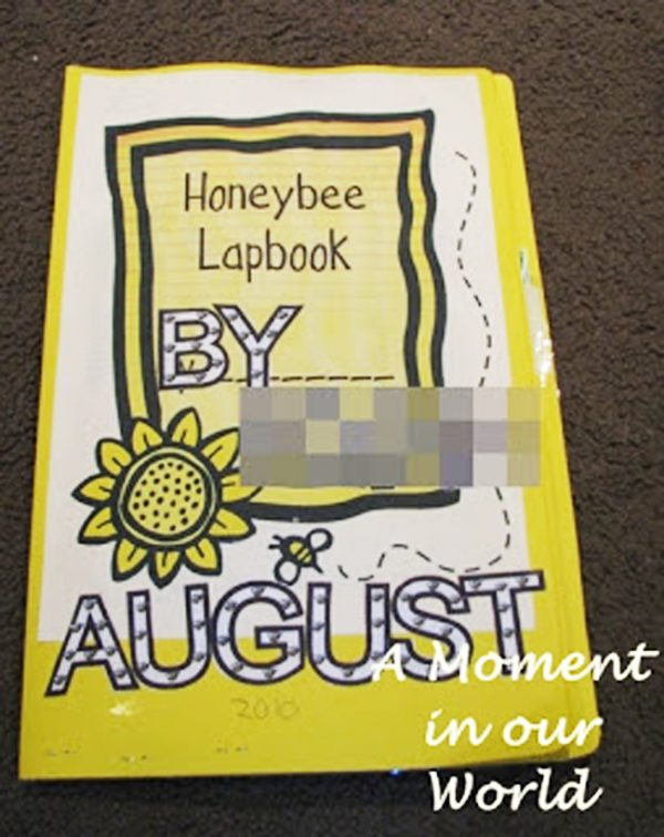 This Bee Lapbook is a great way for kids to learn about Honey Bees.