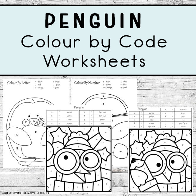 Penguin Colour by Code