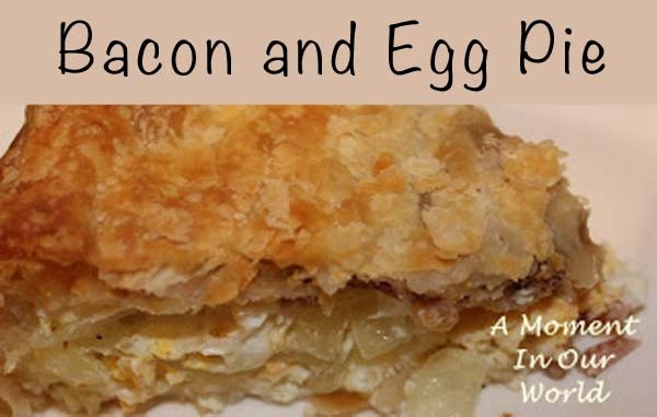 bacon and egg pie 1