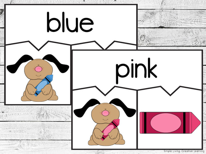 Doggy Colours Puzzles