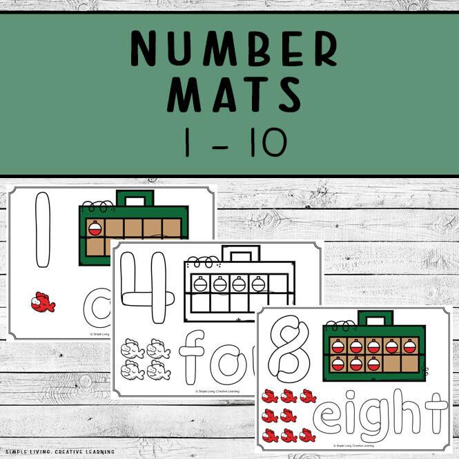 Number Mats 1 - 10