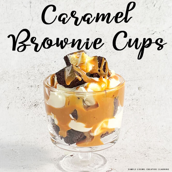 Caramel Brownie Cups
