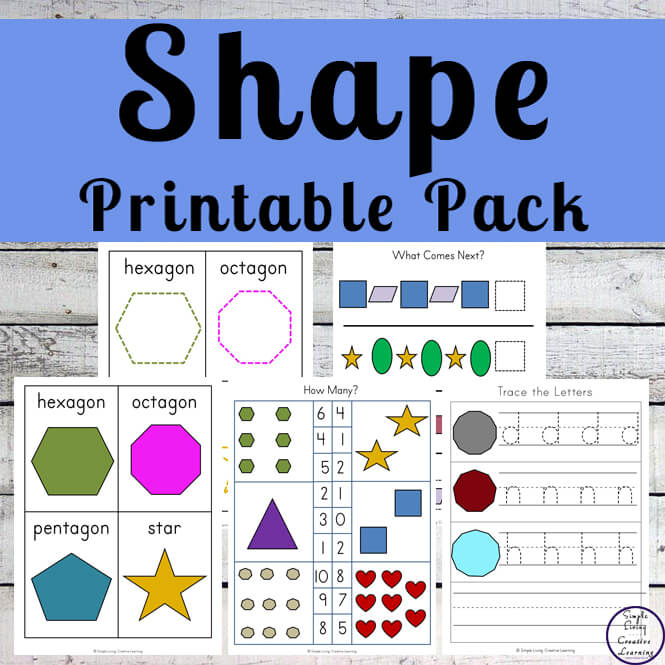 Shape Printable Pack