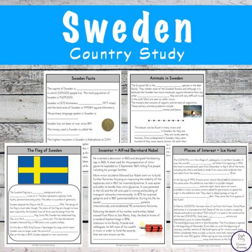 Take a fascinating journey to Sweden with this exciting Sweden Study and learn more about the people, food and culture along the way.