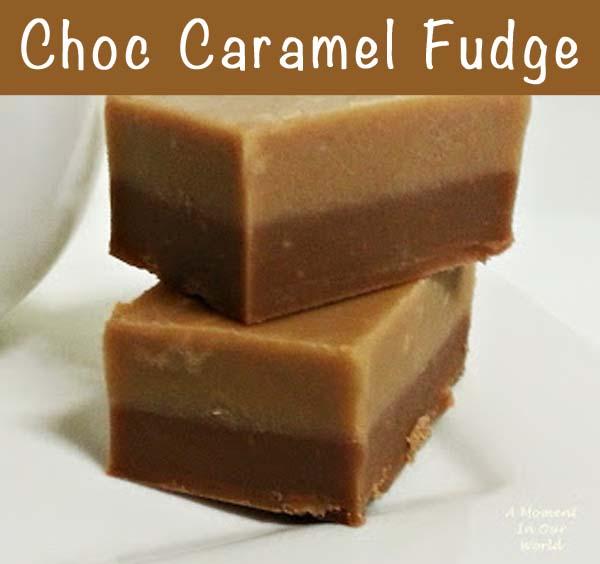 Choc Caramel Fudge