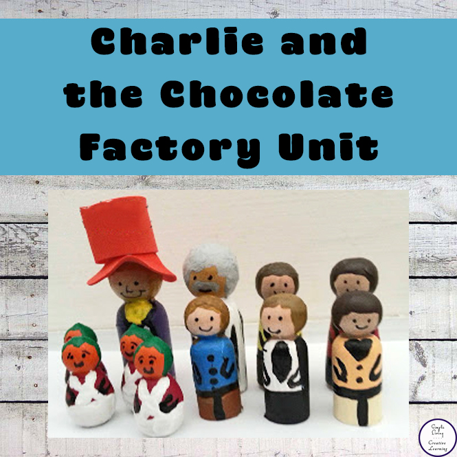 Enjoy reading Charlie and the Chocolate Factory while completing these fun activities.
