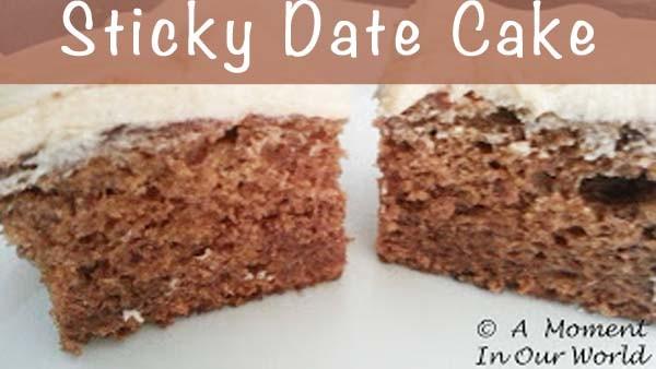 sticky date cakeblog