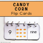 Candy Corn Flip Cards