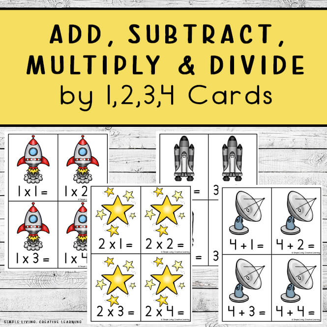 Math Cards for Learning