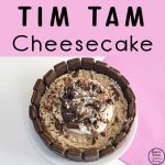 Another yummy cheesecake! This Tim Tam Cheesecake will work with any flavour of Tim Tams or you could use a variety of different flavoured Tim Tams.