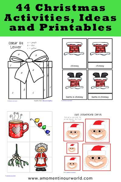 44 Christmas Activities, Ideas and Printables