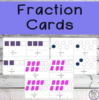 re you looking for a way to introduce fractions to your kids? Then these Fraction Cards are what you need.