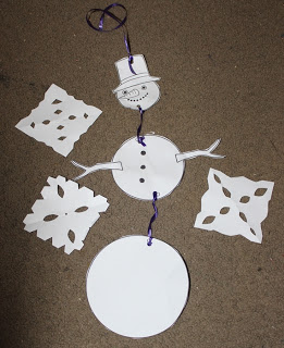 Snow Lapbook