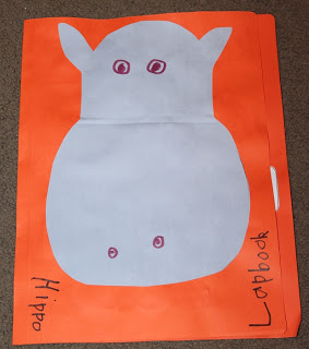 Hippo Lapbook