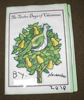 12 Days of Christmas Lapbook
