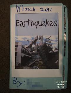 Earthquake Lapbook,