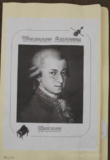 Wolfgang Mozart Lapbook