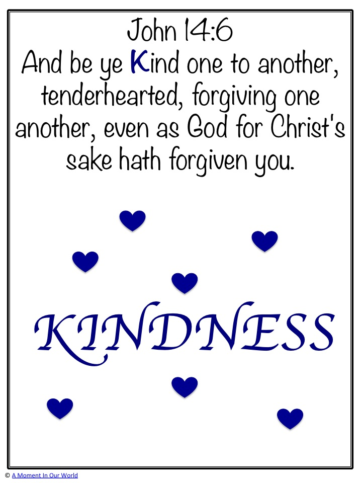 Monday Memory Verse Ephesians 4:32