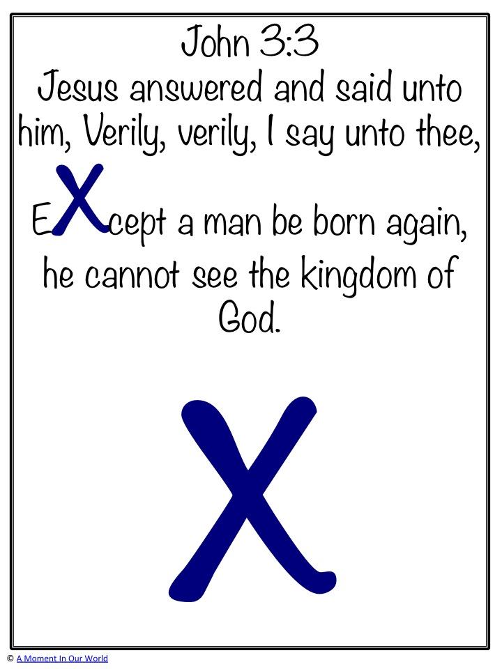 Monday Memory Verse John 3:3