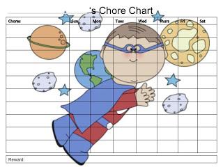 {FREE} Printable Chore Chart