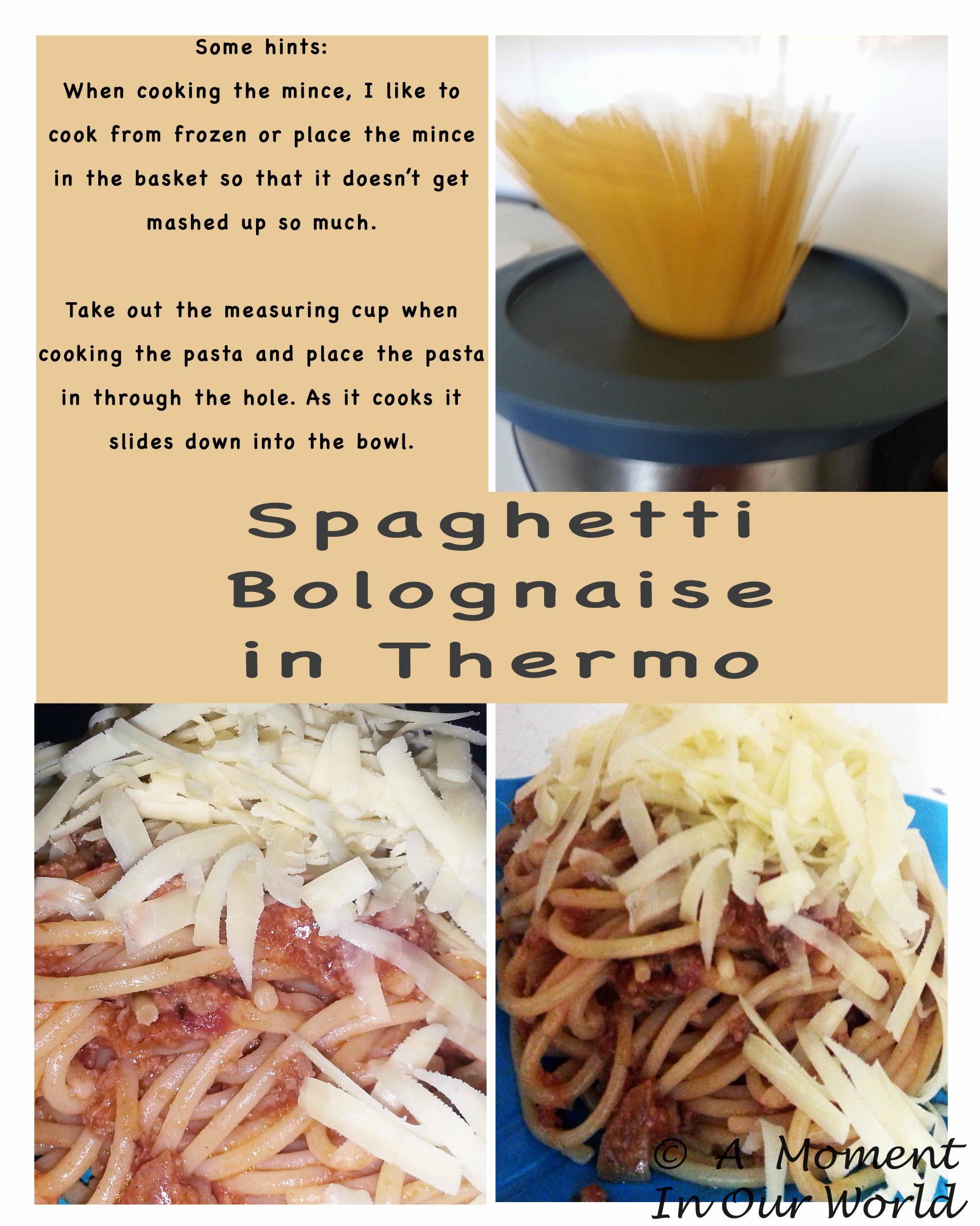 Spaghetti Bolognese - Thermo
