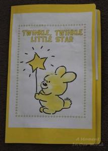Twinkle Twinkle Little Star Lapbook