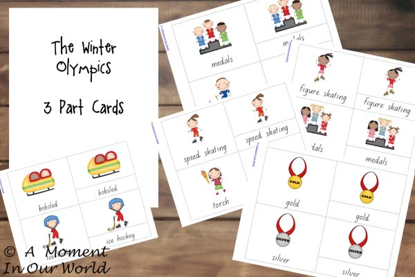 Winter Olympic Cards