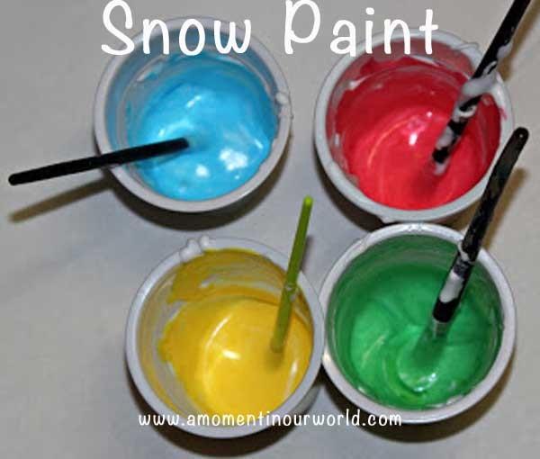 snow paint a