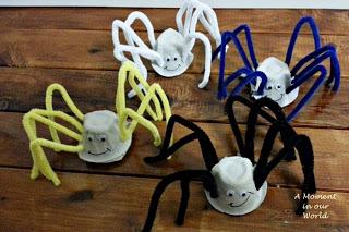 Daddy Long-leg Spiders Craft