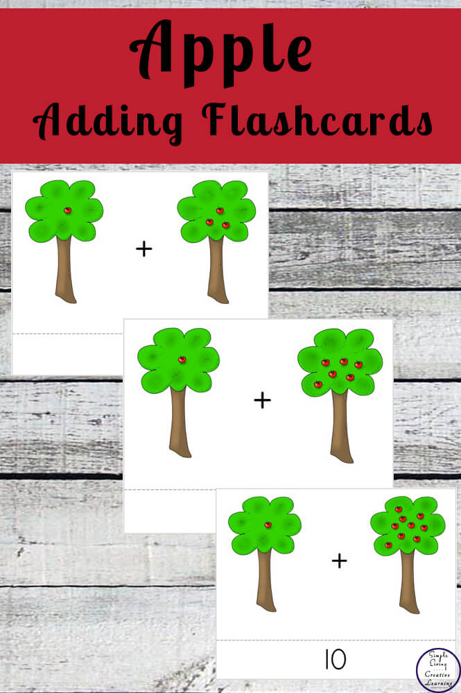 These awesome adding to 10 flashcards are a great way to help your child learn the basics of addition.