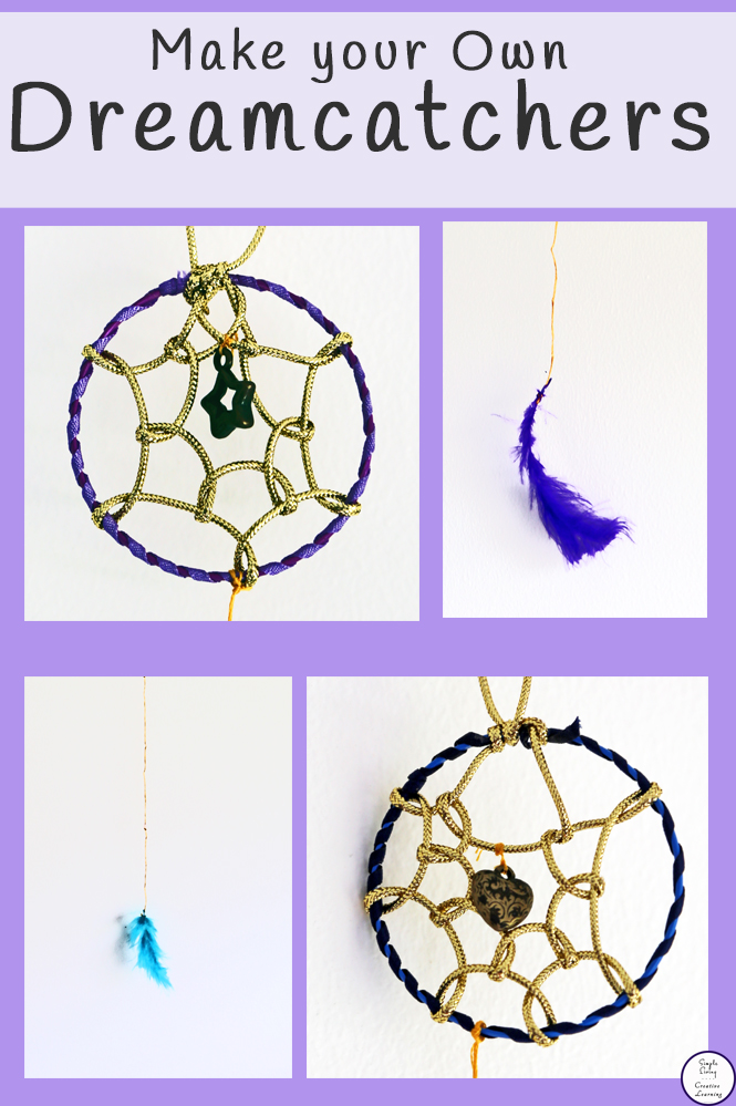 Make your own dreamcatcher simple living creative learning for Dream catchers how to make them